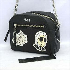 Karl-Lagerfeld-Shoulder-bag-black.jpgのサムネール画像